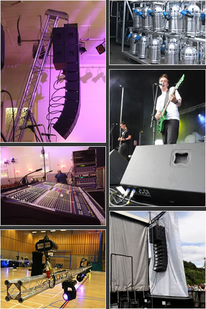 Equipment Hire from Leisuretec UK Ltd